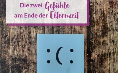 Die zwei Gefühle am Ende der Elternzeit (plus Übung wie du vor der Eingewöhnung leichter Loslassen kannst)